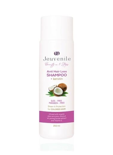 Jeuvenile İşlem Görmüş & Boyalı Saçlar için Besleyici ve Koruyucu Bakım Keratin Şampuanı 250 ML Renksiz
